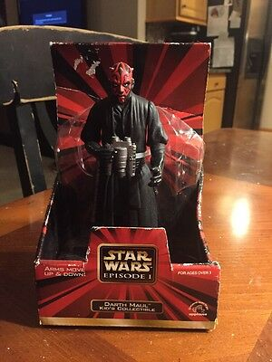 """DARTH MAUL Star Wars Episode 1 Applause Kid's Collectible 7"""" Action Figure NIB"""