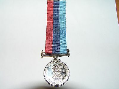 india genuine 1971 20 years long service medal.army,navy,air force.