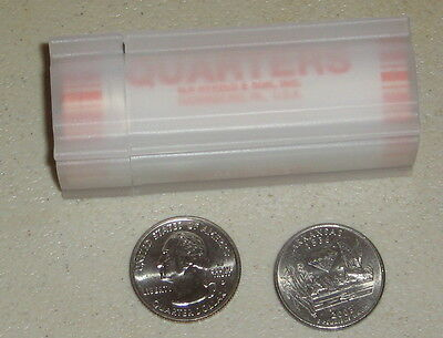2003 D Arkansas State Quarter Roll - Uncirculated -  Plastic Tube - Bank Rolled