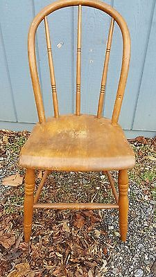 Set of 4 Bow-back Windsor Side Chairs