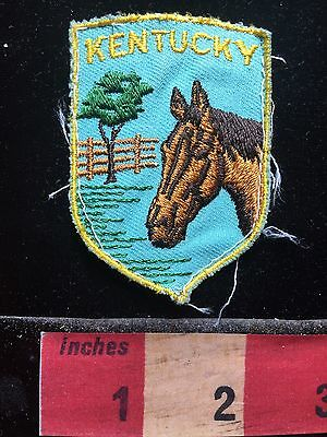Vintage State Of Kentucky Horse Patch ~ Mesh Back & Old C714