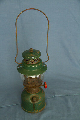 Vintage Coleman Lantern Model 242C Complete with Globe Marked 1945