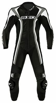 Genuine AXO Talon Evo Motorcycle Leather Racing Suit, One Piece - Size 50, NEW