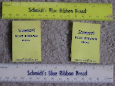 Schmidt's Blue Ribbon Bread Rulers and Mending kits