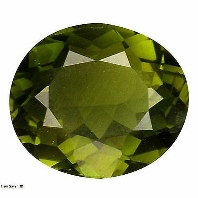 0.925Cts FORMIDABLE TOP STUNNING GREEN NATURAL TOURMALINE OVAL GEMSTONES