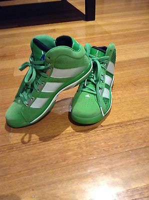 Adidas Superbeast Mens Green Intense Basketball Shoes Size 8.5 US BNWOT