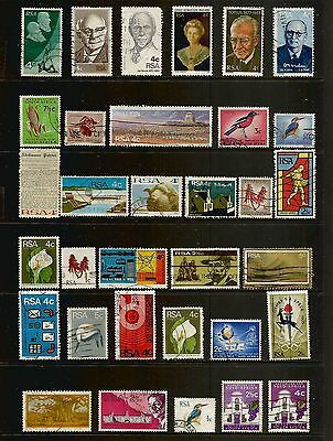 SOUTH AFRICA - mixed collection No.16, decimal