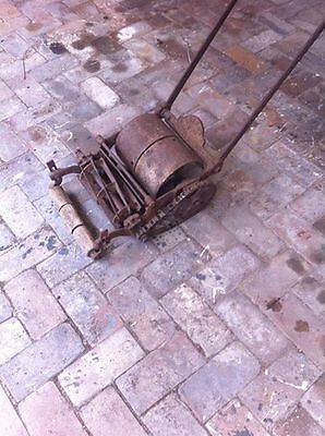 antique roller type mower collectable rustic it still works! Sydney