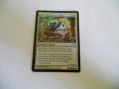 1x MTG FOIL Kami dell'Antica Legge-Of Ancient Law Magic EDH COK Kamigawa ITA x1