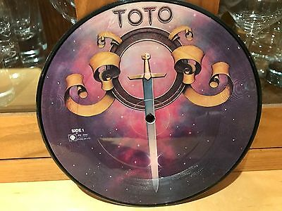 "Toto - Hold the line - (Picture Disc 7"",1980s,45rpm) -  disc perfect,  sleeve no"