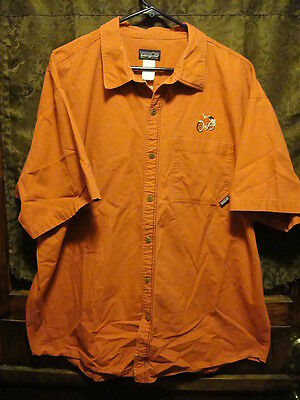 NEW BELGIUM BREWING Asheville CO Mens XL S/SL PATAGONIA Beer Delivery Work Shirt