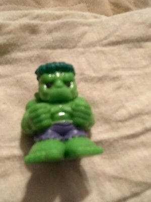 ooshie pencil topper RARE green hulk