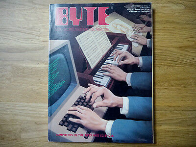 Byte Magazine - 3 Issues - Collector's Items!!