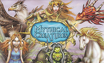 Australia Stamps 2011 Mythical Creatures Post Office Pack POP Mermaid Dragon