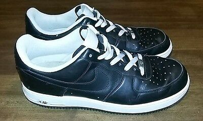 Nike Air Force 1 - 82 Men's Black And White Athletic Shoes, Size 12
