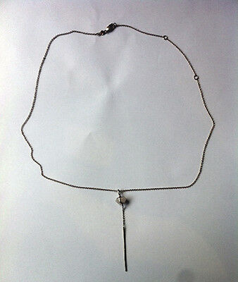 Samatha Wills Band Of Outsiders Necklace - Sterling Silver 9K Rose Gold Plated
