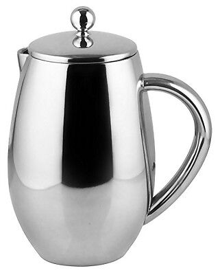 Bruntmor, DUBLIN 34oz Double Wall 18/8 Steel French Coffee Press with Double