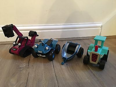 Collection Of Bob The Builder Toys