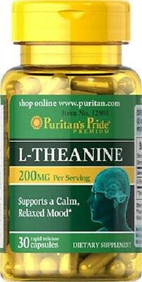 L-THEANIN 200 MG. 30 KAPSELN,  Mental L-Theanin Vorteile, L-THEANINE
