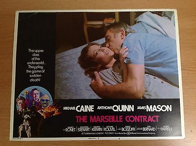 The Marseille Contract - Usa Lobby Card X 1 Picture - Michael Caine - 1974