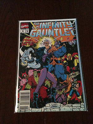 Infinity Gauntlet #6  NM+ 9.6 - 9.8 CGC It RARE NEWS STAND VARIANT