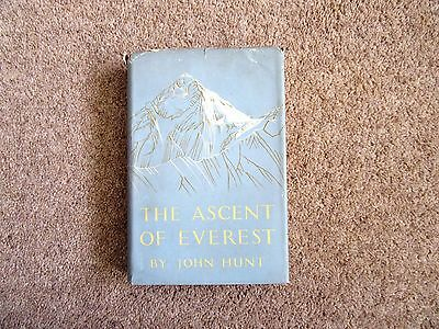 The Ascent of Everest by John Hunt - 1st edition