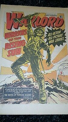 Warlord Comic No 136 Dated April 30Th 1977