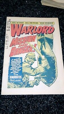 Warlord Comic No 116 Dated Dec 11Th 1976