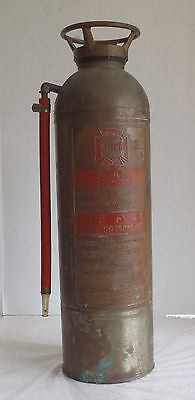 Empty Vintage ALFCO American LaFrance  Fire Extinguisher