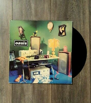 "Oasis shakermaker 12"" vinyl rare mint record very good sleeve"