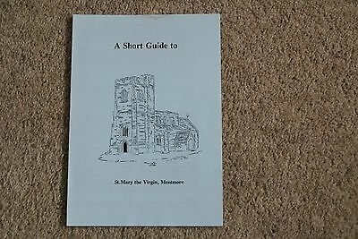 Guide to St Mary the Virgin Church, Mentmore, Bucks
