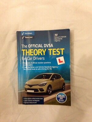Theory Test Book Official DVSA for Car Drivers
