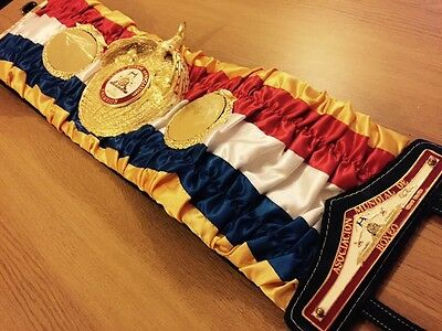 Official Old Style WBA Super Champion boxing belt-GENUINE -VERY RARE!!!