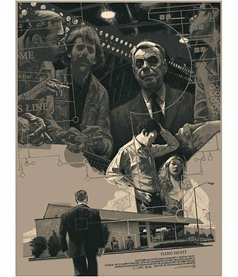 HARD EIGHT - Mondo Poster - Rich Kelly - Paul Thomas Andersen (Boogie Nights)