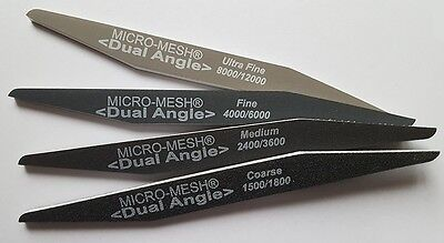 Micro-Mesh Dual Angle Files Assorted 4 Pack
