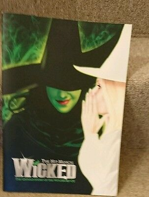 wicked 2012 theatre programme London