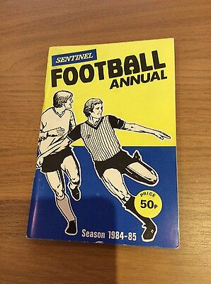 1984/85 Staffordshire Sentinel Football Annual