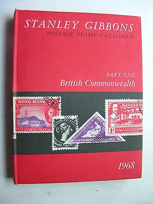1968 STANLEY GIBBONS BRITISH COMMONWEALTH POSTAGE STAMP CATALOGUE 70th Edition