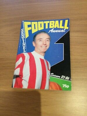1985/86 North Staffrdshire Sentinal Football Annual