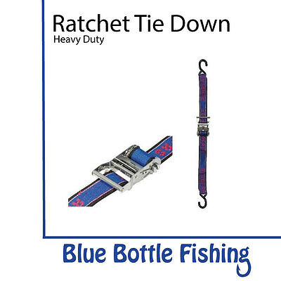 Ratchet Tie Down Stainless Steel Heavy Duty Over Boat