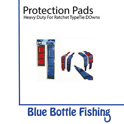 Heavy Duty Protection Pads For Tie Down Straps-RED