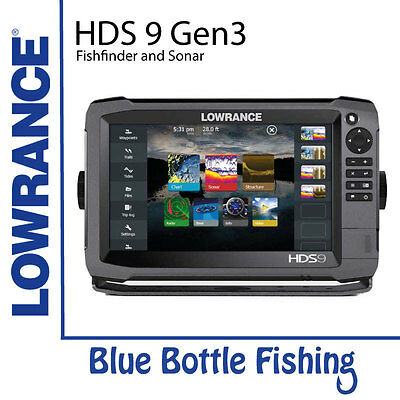 Lowrance HDS 9 Gen 3 Touch With TotalScan Transducer + Navionics Gold Card