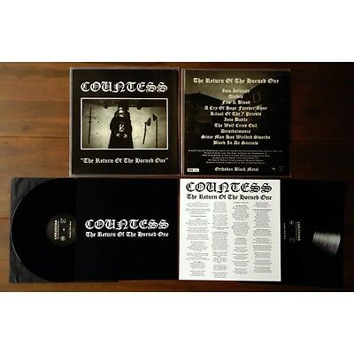 Countess - The Return Of The Horned One LP,neu