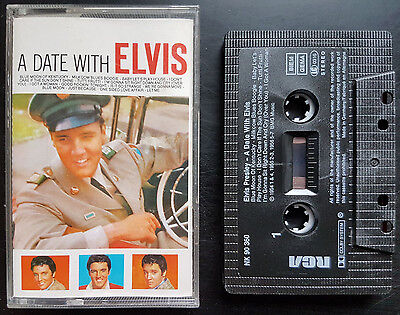 Elvis Presley - A Date With Elvis - Cassette