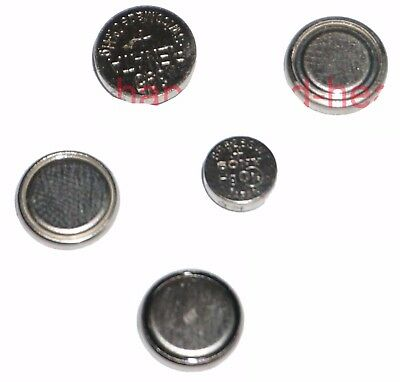 5 pcs Made in Japan Silver Oxide Watch Batteries SR626SW 377, FREE POST #MX