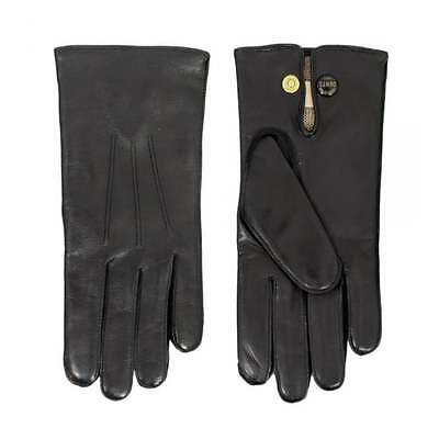 Men's Dents Wool Lined Hairsheep Leather Gloves - Black - Size 11.5 - New