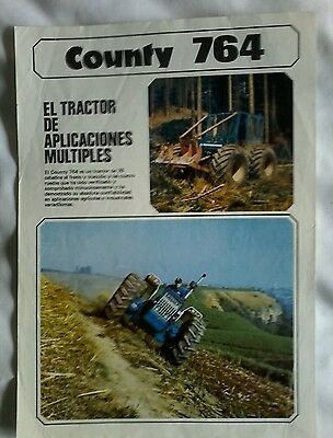county tractor leaflet in Spanish.