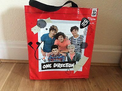 One Direction Carry Bag From 2013 Red With Black Handles