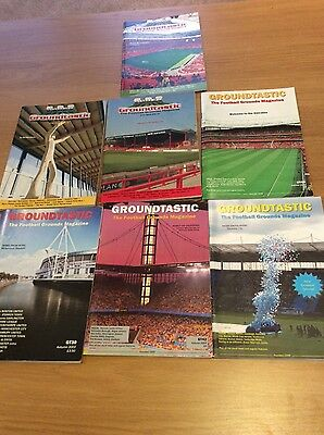 Groundtastic - 7 different issues - The Football Grounds Magazine