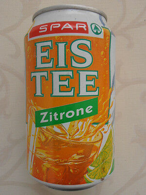 Spar Eis Tee Zitrone Dose  BRD (1995) 0,33l Can Germany